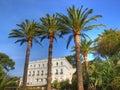 Ancient and beautuful french riviera villa Royalty Free Stock Photo