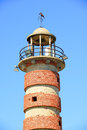Ancient Brick Lighthouse, Lisbon, Portugal Royalty Free Stock Images