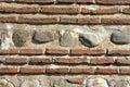 Ancient brick wall Stock Photos