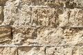 Ancient brick wall Royalty Free Stock Photo