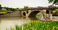 Ancient bridge china filmed in the changyang town of fangshan district beijing city chinese forest park Stock Photos
