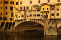 Ancient bridge in Florence Royalty Free Stock Photo
