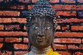 Ancient buddha Stock Photo