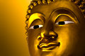 Ancient Buddha face, Ayutthaya Royalty Free Stock Photography