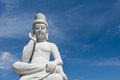 Ancient buddha statue Royalty Free Stock Image