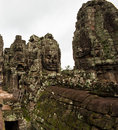 Ancient buddhist khmer temple in angkor wat cambodia bayon prasat Stock Image