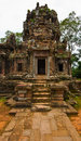 Ancient buddhist khmer temple in angkor wat cambodia chau say tevoda prasat Stock Photography
