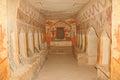 Ancient burial cave Stock Photos