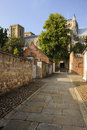 Ancient byway, Ripon Cathedral Royalty Free Stock Photos