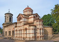 Ancient Byzantine church in Kerch, Crimea, Ukraine Stock Image