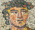 Ancient byzantine mosaic Royalty Free Stock Images