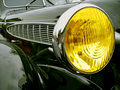 The ancient car Royalty Free Stock Photos