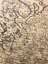 Ancient cartography - old aged ma