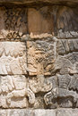 Ancient carving - Mayan figure Stock Photo