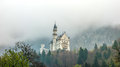 Ancient castle in the Alpine mountains Royalty Free Stock Photo