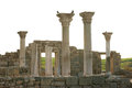 Ancient castle with columns Royalty Free Stock Photos