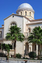 Ancient cathedral in limassol cyprus Stock Photo