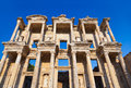 Ancient Celsius Library in Ephesus Turkey Royalty Free Stock Photo
