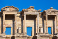 Ancient celsius library in ephesus turkey facade of Stock Photo