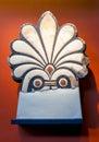 Ancient ceramic item greek delphi greece Royalty Free Stock Photo