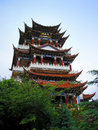 Ancient Chinese Towers Royalty Free Stock Photo