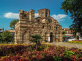Ancient church bulgaria nesebar august Stock Photo