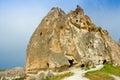 Ancient church in Cappadocia, Central Anatolia in Turkey Royalty Free Stock Photo