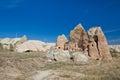 Ancient church in Cappadocia Royalty Free Stock Photo