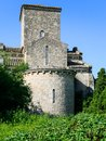 ancient church at Germigny-des-Pres in France Royalty Free Stock Photo