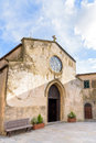 Ancient church in Italy Royalty Free Stock Photo