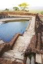 Ancient Cistern at Sigiriya, Sri Lanka Royalty Free Stock Photo
