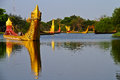 Ancient city bangkok at thailand Stock Image