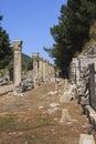 The ancient city of ephesus turkey Royalty Free Stock Photos