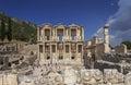 The ancient city of ephesus turkey Royalty Free Stock Image