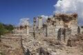 The ancient city of ephesus turkey Royalty Free Stock Photography