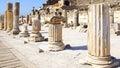 Ancient city of ephesus turkey picturesque ruins the Stock Photos