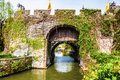 Ancient city gate pan gate the was one of main in suzhou it is consists of water and land Royalty Free Stock Photography