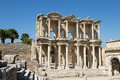 Ancient City Ruins of Ephesus, Travel to Turkey Royalty Free Stock Image