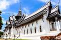 Ancient city samut prakan province thailand sanphet prasat palace Royalty Free Stock Photos