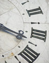 Ancient clock Stock Images