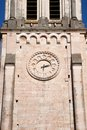 Ancient clock in belfry Stock Photography