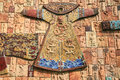 Ancient clothes of china this is a wall Stock Photo