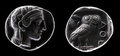 Ancient coin Royalty Free Stock Photos