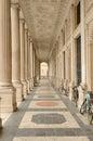 Ancient Columnade (Rome) Royalty Free Stock Photo