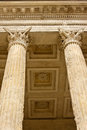 Ancient Corinthian Columns Stock Photos