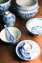 Ancient crockery older than years Stock Image