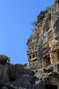Ancient Dead Town In Myra Demre Turkey Royalty Free Stock Photo