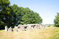 Ancient dolmen of stones Royalty Free Stock Photo
