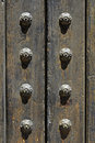 Ancient door detail Royalty Free Stock Photo
