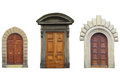 Ancient Doors Royalty Free Stock Photos